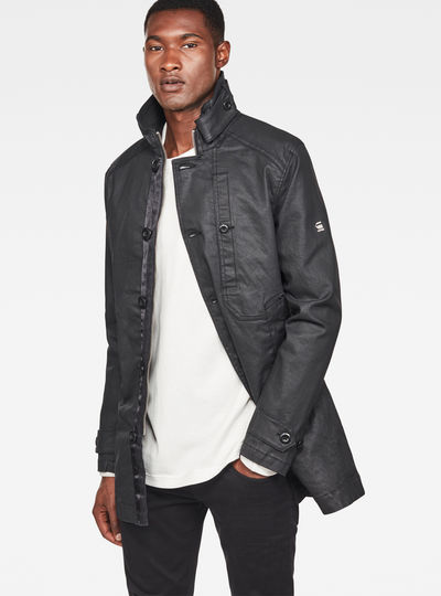 Garber Denim Trench