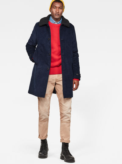 Garber Trench Overcoat