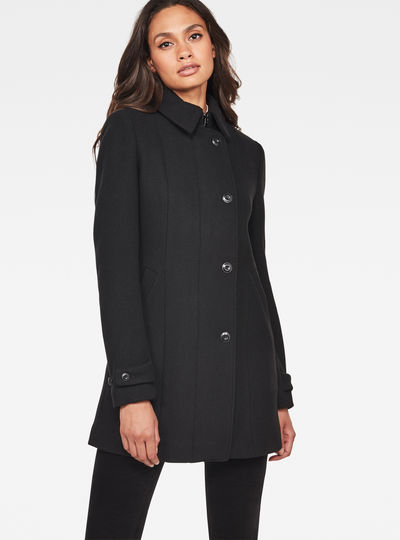 Minor Slim Wool Coat