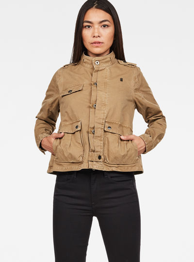 Officer Cropped Jacket