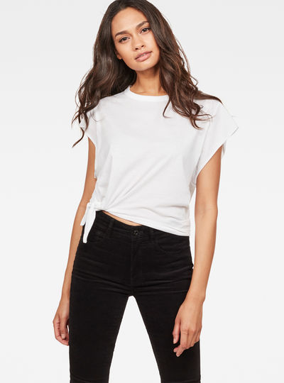 Zajla Knotted Straight T-Shirt