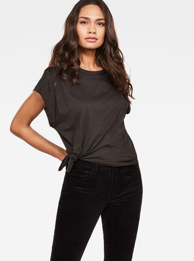 Zajla Knotted Straight T-Shirt