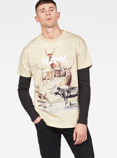 Cyrer Earth Loose T-Shirt