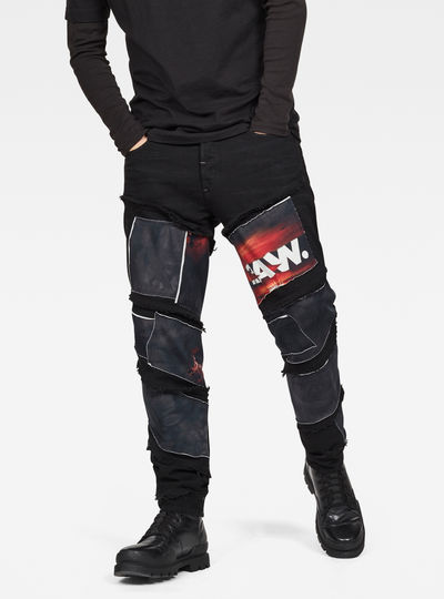 Spiraq RFTP Patches Eclipse 3D Slim Jeans