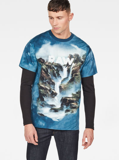 Cyrer Water Loose T-Shirt
