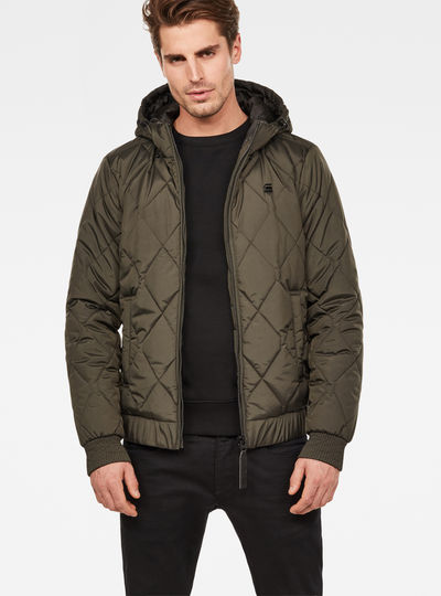 Whistler Meefic Hooded Quilted Bomber