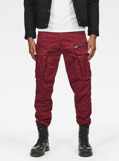 Rovic Zip 3D Straight Tapered Pants