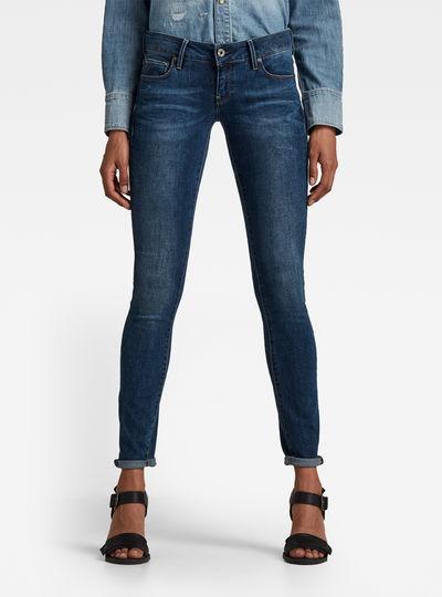 3301 Low Waist Skinny Jeans