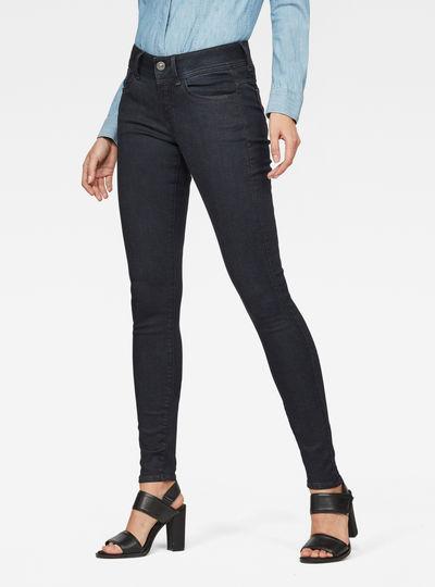 Lynn D-Mid Super Skinny Jeans