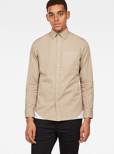 Core Button Down Slim Shirt