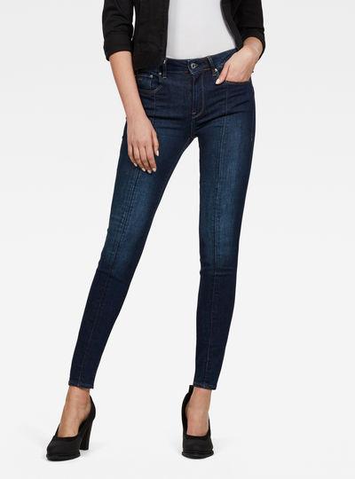 3301-L High Waist Skinny Jeans