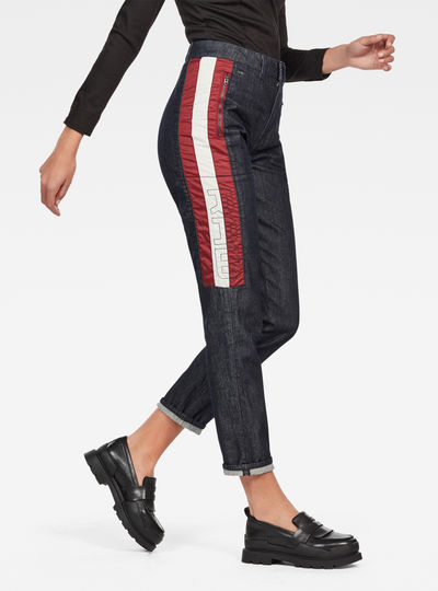 5621 Moto High Waist Straight Ankle Jeans
