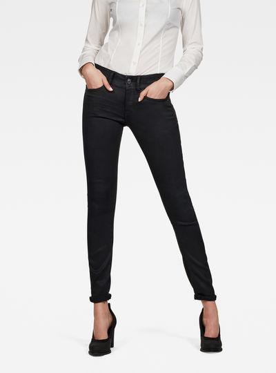 Lynn Mid Waist Skinny Pm Jeans