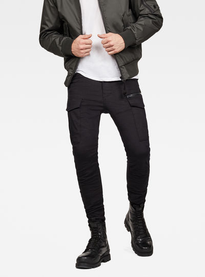 Rovic Zip 3D Skinny Pants