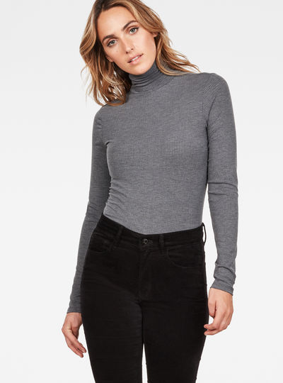 Silber Slim Turtle T-Shirt