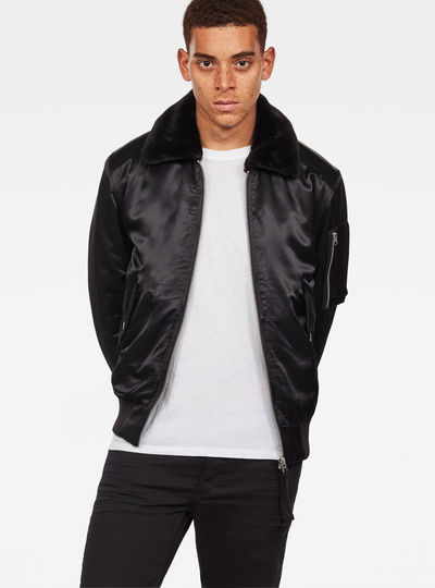 Rackam Dc Flight Padded Bomber