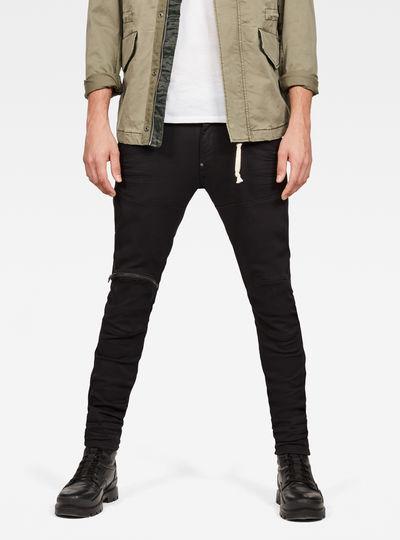 5623 G-Star Elwood 3D Zip Knee Skinny Jeans