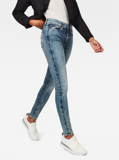 3301 Deconstructed High Skinny Jeans