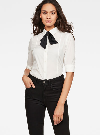 Core Bow Slim Shirt