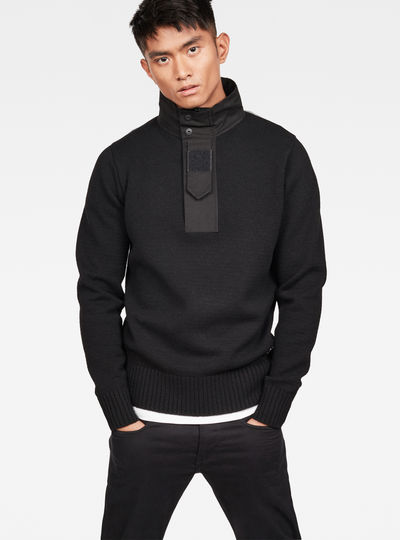 Bantson Zip Knit