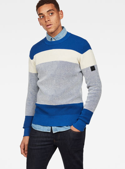 Block Stripe Knit