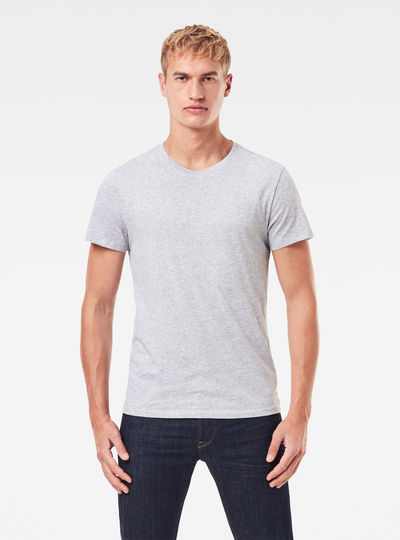 Basic Heather T-Shirt 2-Pack