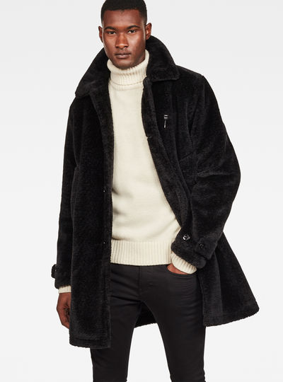 Garber Teddy Overcoat