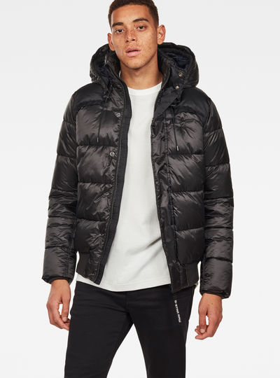Whistler Quilted Hooded Bomber
