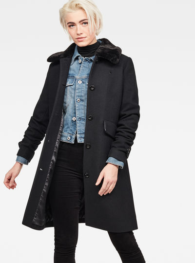 Minor Teddy Wool Classic Coat