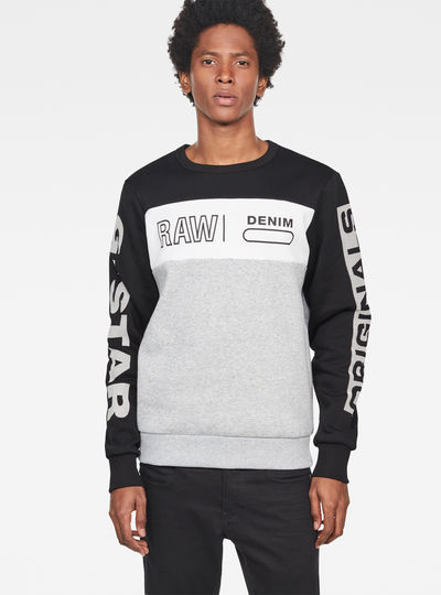 Swando Block Graphic Sweat