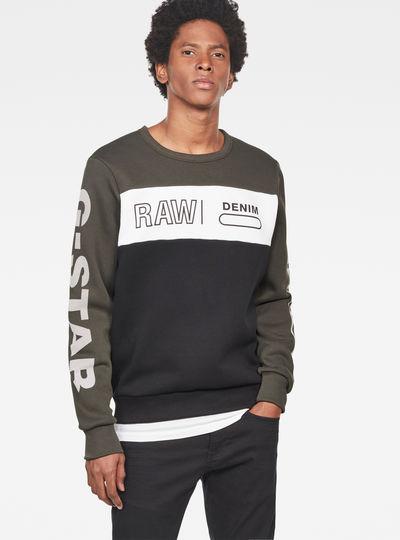 Swando Block Graphic Sweater