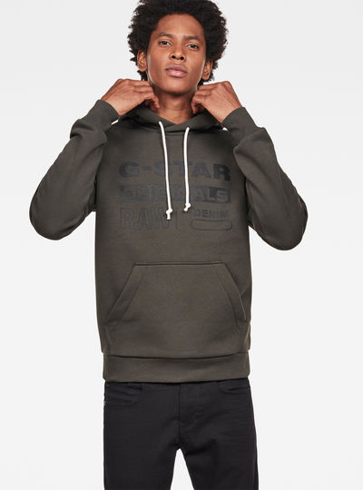 Swando-S Logo Hooded Sweater