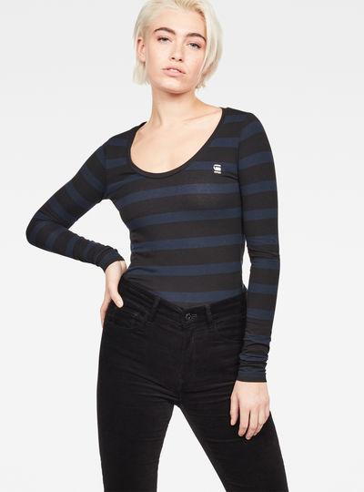 Basic-S Stripe T-Shirt