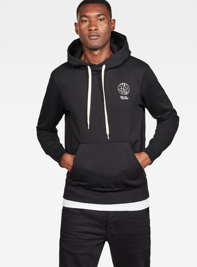 Graphic 16 Core Hooded Sweat