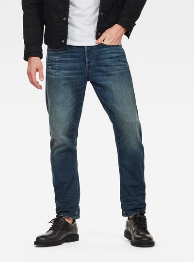 Chinese NY Type C 3D Straight Tapered Jeans