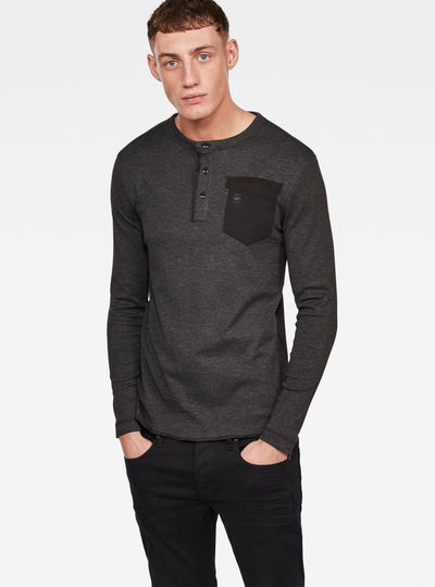 c3ddc85ea2f Classic Granddad Pocket T-Shirt ...