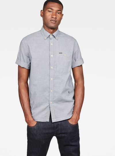 Core Button Down 1 Pocket Straight Shirt