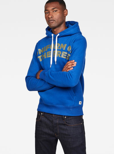 Graphic 83 Core Hooded Sweat