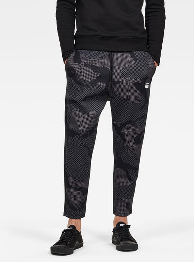 Rodis Camo Cropped Sweatpants