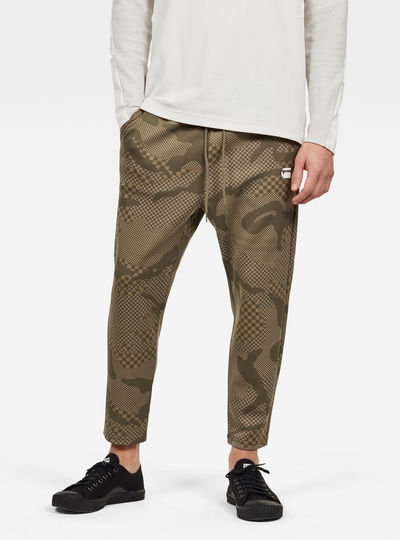 Rodis Camo Cropped Sweat Pants