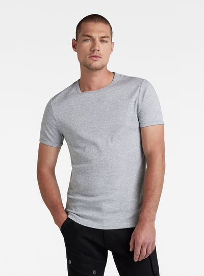 Basic Round Neck T-Shirt 2-Pack