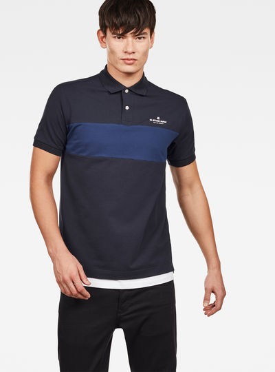 Shelo Graphic Blocked Polo