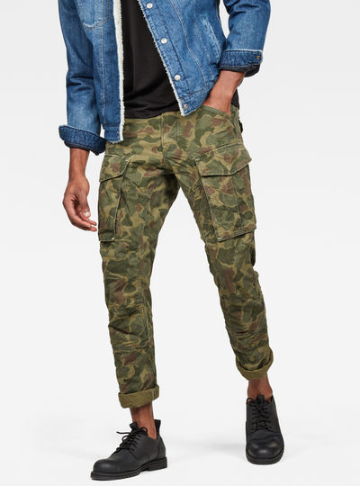 Rovic 3D Straight Tapered Trousers