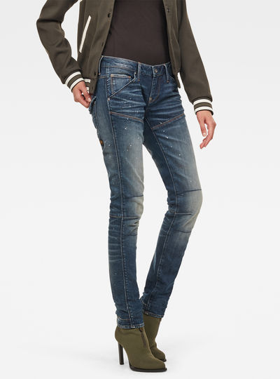 5620 G-Star Elwood Heritage Embro Tapered Jeans