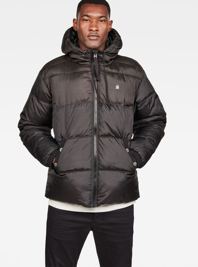 Swando Block Hooded Jacket