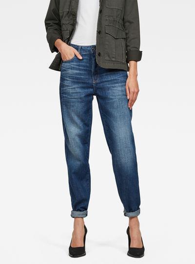 3301 Mid Waist Baggy Boyfriend Jeans
