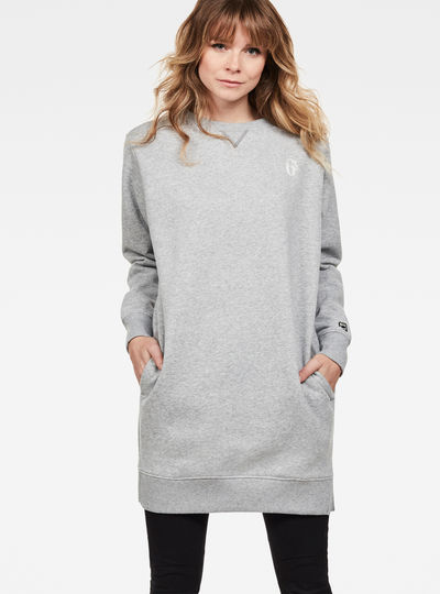 Reffit Boyfriend Long Sweat Dress