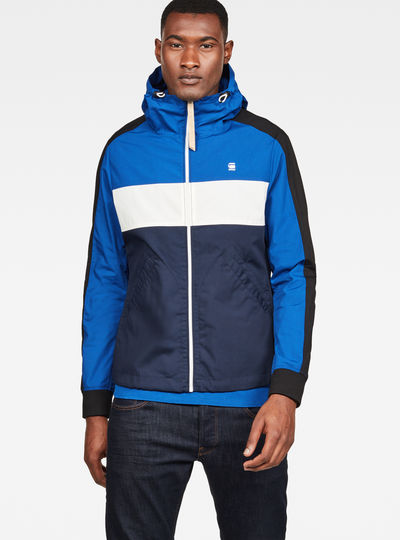 Setscale Color Block Hooded Jacket