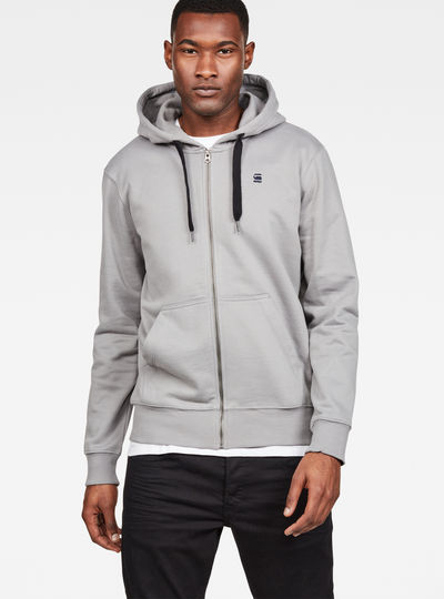 Loaq Core Zip Hooded Sweat