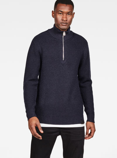 Omohundo Zip Turtle Knit